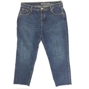 Gap Vintage High Rise Cropped Jeans Sz 14 / 32